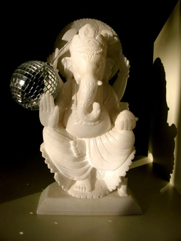 Ganesh is disco!